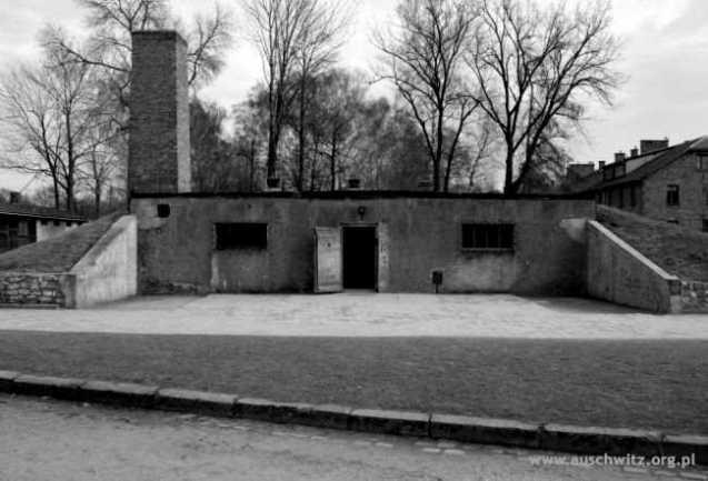 Der Eingang Kremator 1 Stammlager