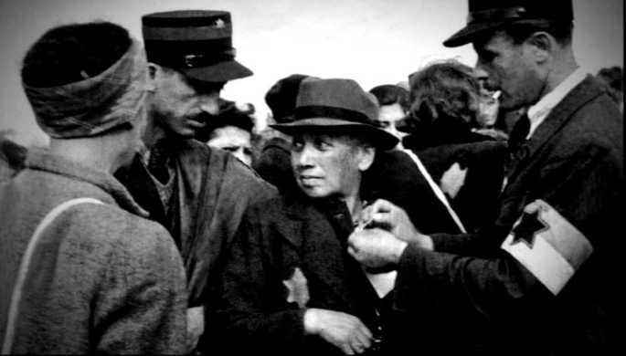 Ghetto Lodz Verhaftung Ghettopolizei