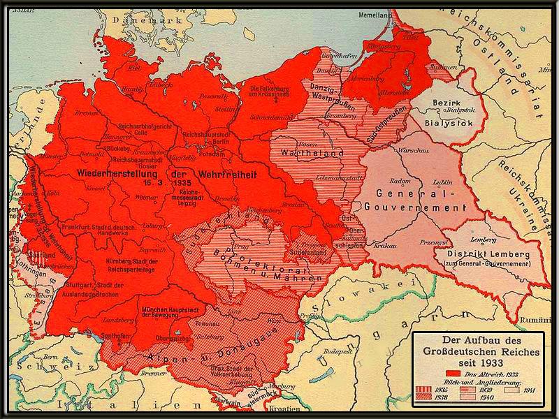 Deutsches Reich Karte 1943.Hitlers Reden Shoaportalvienna