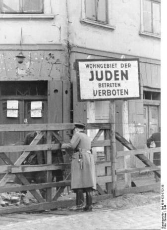 Polen, Ghetto Litzmannstadt, Torposten