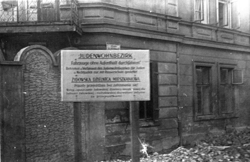 Polen, Ghetto Krakau, Einfahrt