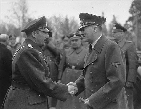 Hitler und König Boris von Bulgarien Nazis