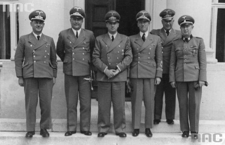 Kundt,_Fischer,_Frank,_Wächter,_Zörner,_Wendler_Generalgouvernement